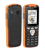 Телефон кнопочный черный с камерой и фонариком на 2 sim Uniwa W2026 orange