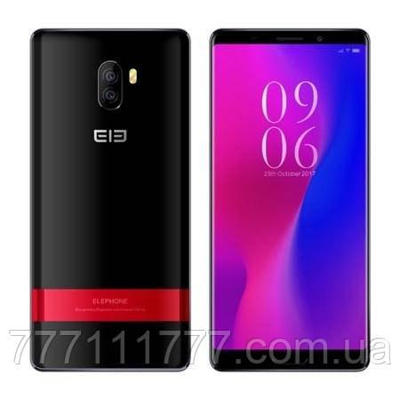 Смартфон с большим дисплеем и хорошей двойной камерой на 2 сим карты Elephone P11 3D black 4/64 гб