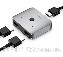 Сплиттер (Разветвитель) Xiaomi HAGiBiS HDMI хаб 4K*2K 60 Hz (XL-HD0201)