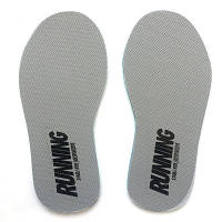 Стельки Running для спортивной обуви спортивные стельки для кроссовок серые 40