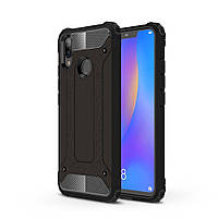 Чехол Guard для Huawei P Smart Plus / Nova 3i / INE-LX1 Бампер бронированный Immortal Black