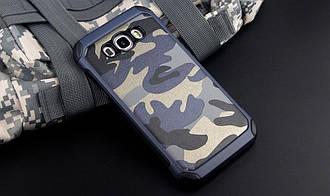 Чехол Military для Samsung J5 2016 / J510 бампер оригинальный Blue