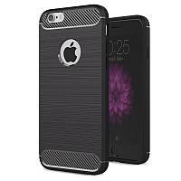 Чехол Carbon для Iphone 6 / 6s бампер оригинальный black