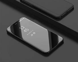 Чехол Mirror для Huawei P Smart Plus / Nova 3i / INE-LX1 книжка зеркальная Black