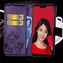 Чехол Clover для Xiaomi Mi A2 Lite / Redmi 6 Pro книжка кожа PU фиолетовый