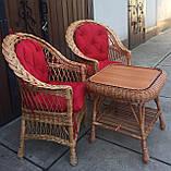 """2 крісла """"Звичайні"""" з мякушками №11 і квадратний столик """"Гриб з плитою"""", фото 10"""