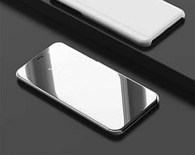 "Чехол Mirror для Honor 7C / AUM-L41 5.7"" книжка зеркальный Silver"