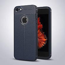 Чехол Touch для iPhone 5 / 5s / SE бампер оригинальный Auto focus Blue