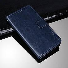 Чехол Idewei для Asus Zenfone Max M2 / ZB633KL / x01ad 4A070EU книжка кожа PU синий
