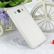 Чехол Style для Samsung J5 2016 / J510 Бампер силиконовый полупрозрачный белый