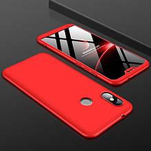 Чехол GKK 360 для Xiaomi Mi A2 Lite / Redmi 6 Pro бампер оригинальный Red