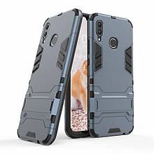 Чехол Iron для Huawei P Smart Plus / Nova 3i / INE-LX1 бронированный Бампер Броня Dark-Blue