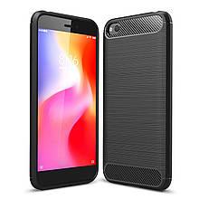 Чехол Carbon для Xiaomi Redmi Go бампер оригинальный Black