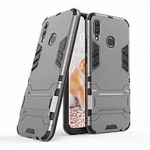 Чехол Iron для Huawei P Smart Plus / Nova 3i / INE-LX1 бронированный Бампер Броня Gray