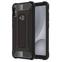 Чехол Guard для Xiaomi Redmi Note 6 Pro бампер оригинальный Immortal Black