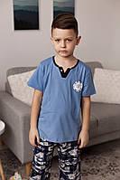 Пижама с капри для мальчика