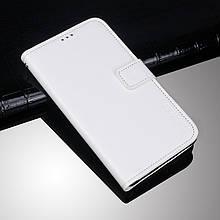 Чехол Idewei для Xiaomi Redmi Note 6 Pro книжка кожа PU белый