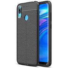 Чехол Touch для Huawei Y7 2019 бампер оригинальный Black