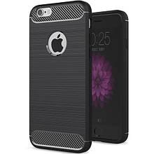 Чехол Carbon для Iphone 6 Plus / 6s Plus Бампер оригинальный Black