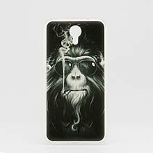 Чехол Print для Homtom HT3 / HT3 Pro силиконовый бампер Monkey