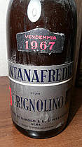 Вино 1967 года Grignolino Barolo  Италия, фото 2