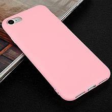 Чехол Style для Iphone 5 / 5s бампер силиконовый розовый