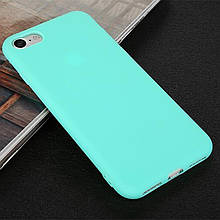Чехол Style для Iphone 5 / 5s бампер силиконовый бирюзовый