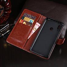 Чехол Idewei для Huawei P Smart 2019/ HRY-LX1 книжка кожа PU коричневый