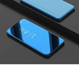 Чехол Mirror для Huawei P Smart Plus / Nova 3i / INE-LX1 книжка зеркальная Blue