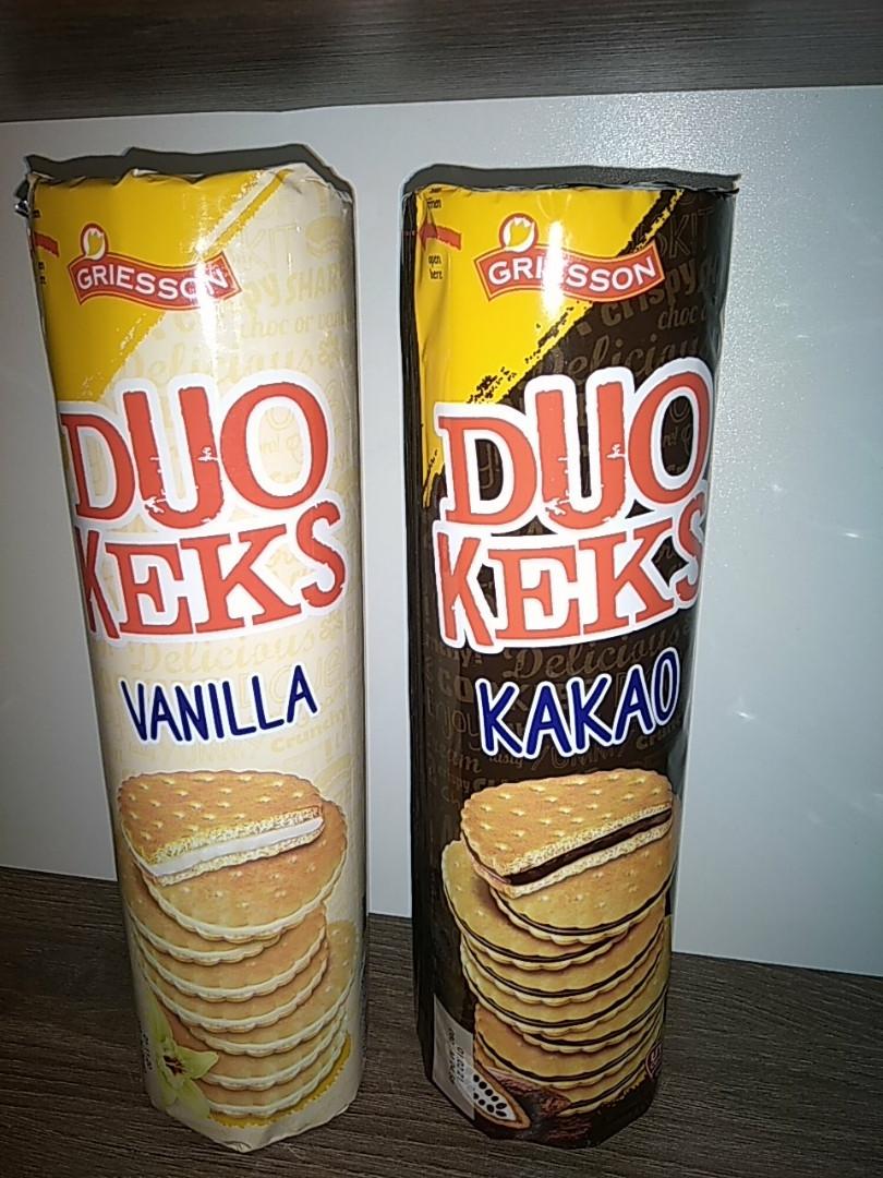 Печиво Griesson Duo Keks ваніль 500 гр.