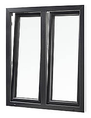 """Вікна типу """"Преміум"""" із профілю WDS 8S, з двокамерним енергозберігаючим склопакетом,розміри (1300х1400)"""
