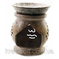 Аромалампа из мыльного камня (11х9х9 см) (29305)