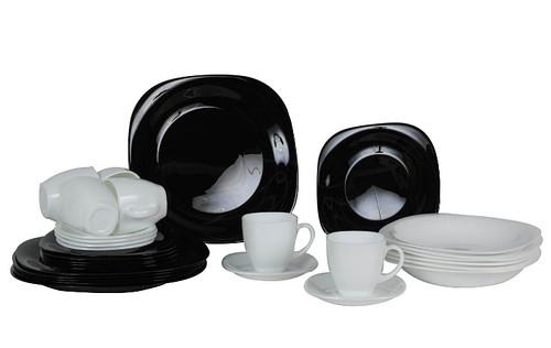 Carine Black&White сервиз столовый 30 предметов D2382,N1500