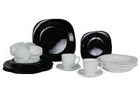 Carine Black&White сервиз столовый 30 предметов D2382,N1500, фото 1