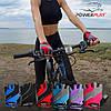 Велорукавички PowerPlay 5023 Блакитні S, фото 7