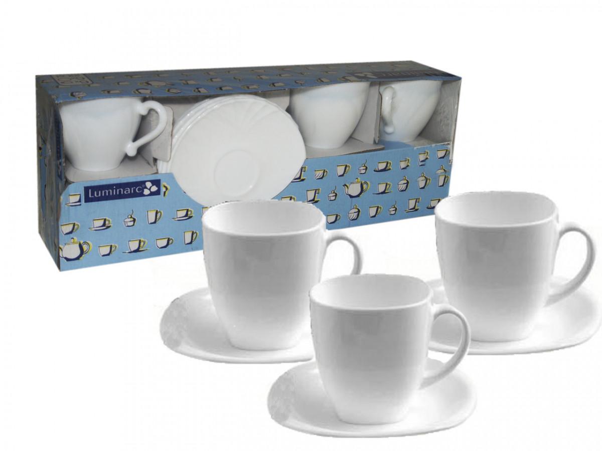 Lotusia сервиз чашки/блюдца 220мл 12 предметов Н1789
