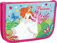 """Пенал твердий """"Princess in White"""" 1 відділення для школы"""