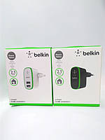 Адаптер - зарядка 220/12 для всех телефонов 2 USB BELKIN (501В), фото 1