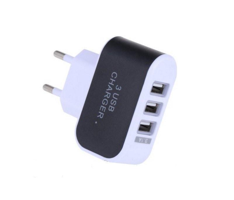 Адаптер - зарядка для всех телефонов + 3 USB