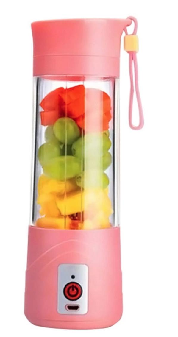 Портативный блендер бутылка USE JUICE BLENDER BOTTLE Mixshaker с акумулятором и подзарядкой от USB EL-03-2