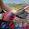Велорукавички PowerPlay 5023 Блакитні XS, фото 7