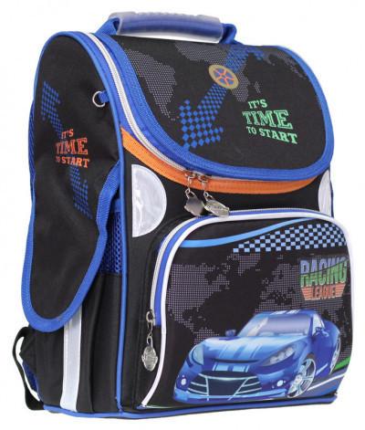 Ранец Rainbow Racing для мальчиков портфель школьный