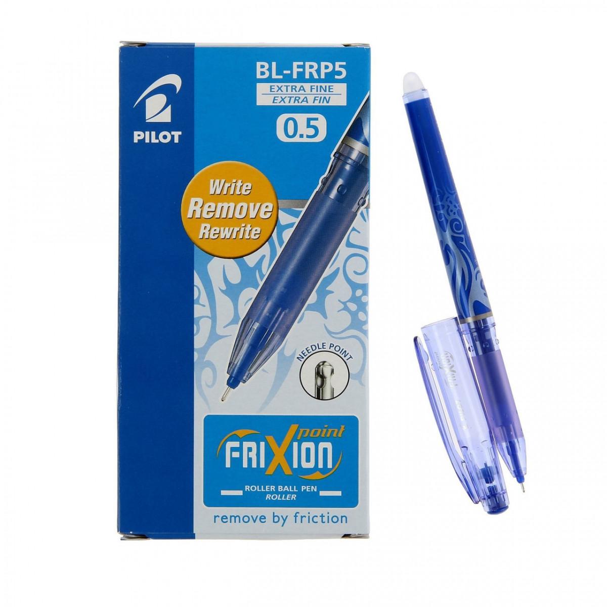 Ручка гелева пише-стирає Pilot Frixion Point 0.5мм синя