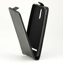 Чехол Idewei для Leagoo M8 / M8 Pro Флип вертикальный кожа PU черный