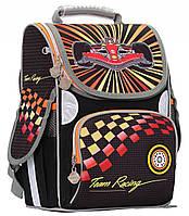Рюкзак ранец школьный каркасный Team Racing ортопедический RAINBOW, фото 1