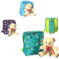 Рюкзак с фигуркой игрушкой Мишка (рюкзак для садика и прогулок) 666 24-26-10см