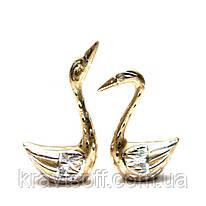 Лебеди пара металл (14х9х4 см) (26572)