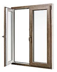 """Вікна типу """"Стандарт"""" із профілю WDS 6S, з двокамерним енергозберігаючим склопакетом,розміри (1300х1400)"""