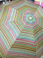 Зонт пляжный торговый садовый диаметр 2 метра с серебрением спица металлическая D2.0m 085 черный с голубым