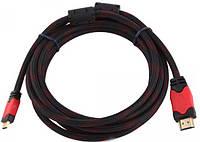 Кабель HDMI-HDMI 1.5m v1.4 19P M/M с фильтрами